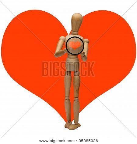 manikin and heart