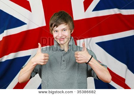 Thumbs Up Brit