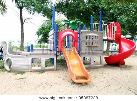 Playgrounds In Park