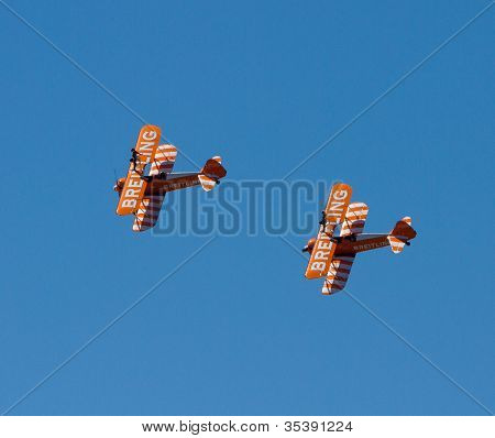 Breitling Wingwalkers Display team