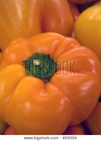 Fresh Red Pepper (macro)
