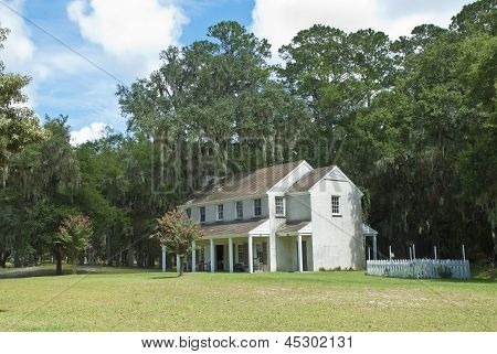 Fort Mcallister Officers Quarters