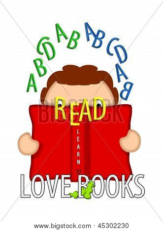 Read And Love Books White