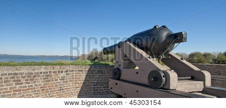 Fort Jackson Cannon