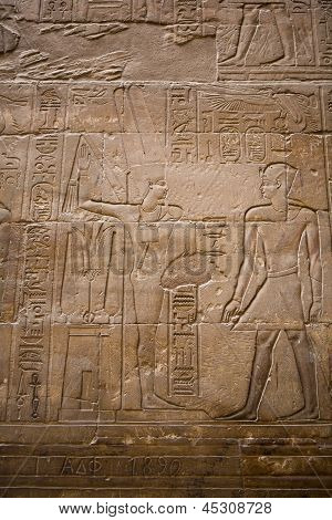 Amun-re And Alexander The Great