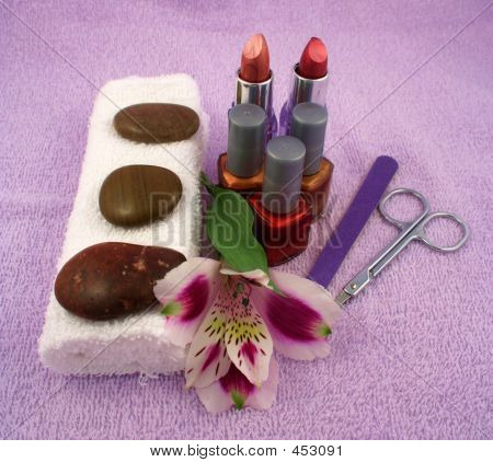 Make-over And Massage