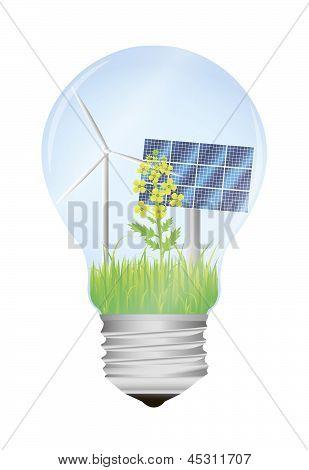 Bio Light Bulb.