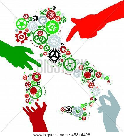 Hands Make Italy Work