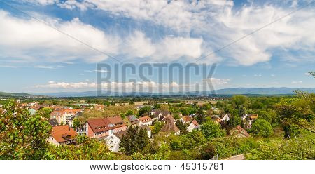 German Landscape Near Breisach, Baden-wurttemberg