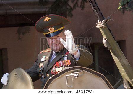 Parade Commander.