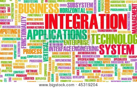 Business Integration as Concept in a Application