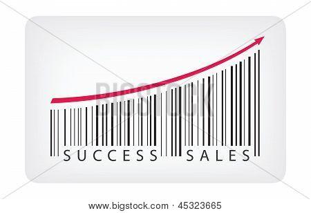 Success Sales Concept