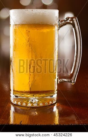 Cold Beer In A Mug