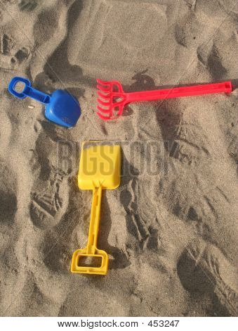 Colorful Sand Toys
