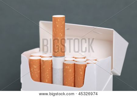 Opened Cigarettes Pack