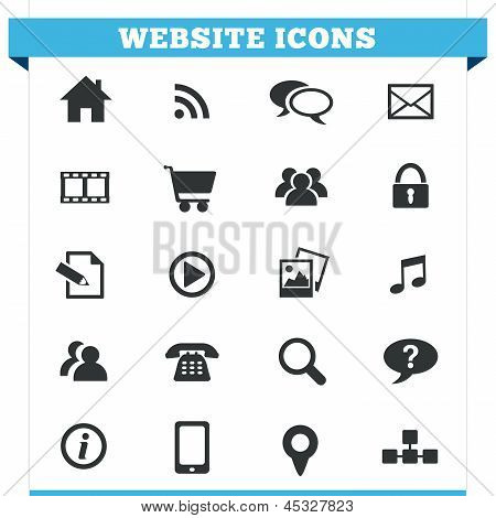 Website-Icons-Vector-Set