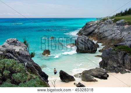 Bermuda's Tucked Away Beach at Astwood Cove
