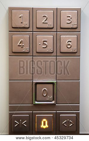 Elevator Keypad