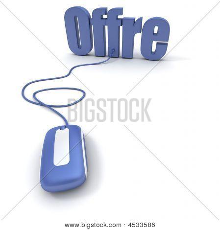 Oferta en línea en francés