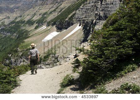 Ranger On Highlign Trail