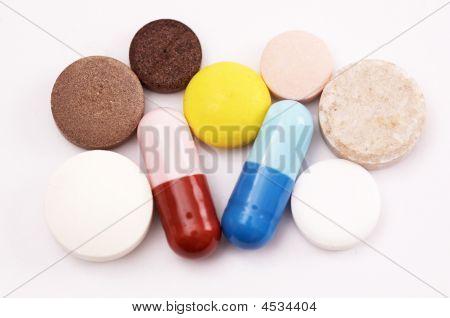 Set Of Different Medicaments