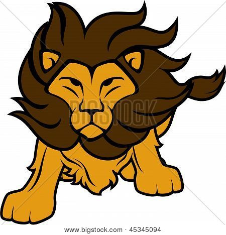 Lion vector clip art