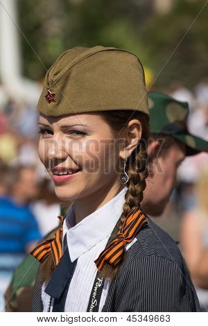 Parade Victory On May 9, 2013 Kiev, Ukraine