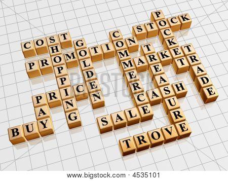 Golden Crossword 2 - Shopping