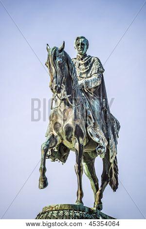 King John Statue Dresden