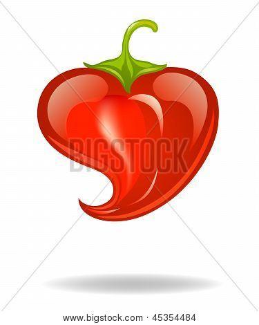 heart pepper