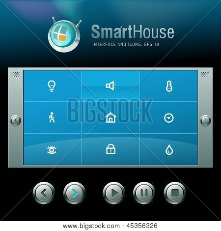 Vector interface and icons