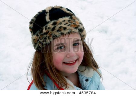 Happiness Outside In The Snow