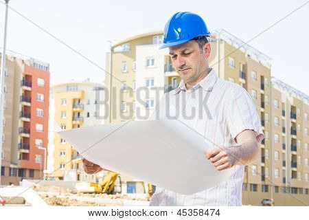 Construction Manager Looking Project