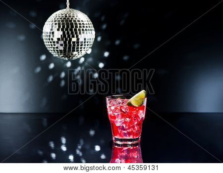 Red Campari Cocktail