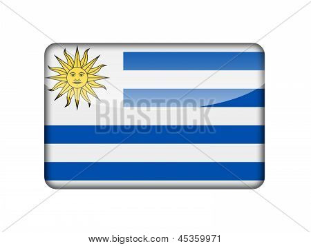 The Uruguayan flag