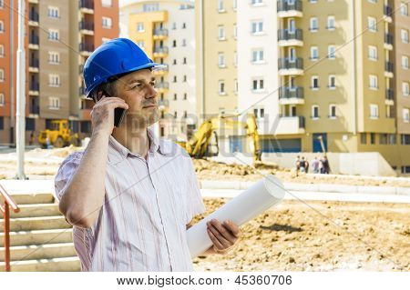 Construction Manager Holding Project