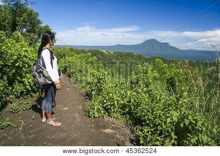 Lago Taal vulcão Tagaytay Filipinas