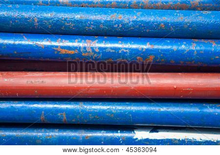 Old Iron Pipe Background
