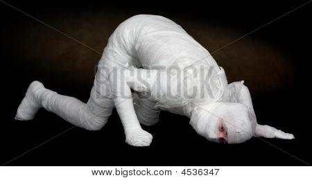 Man In Bandage