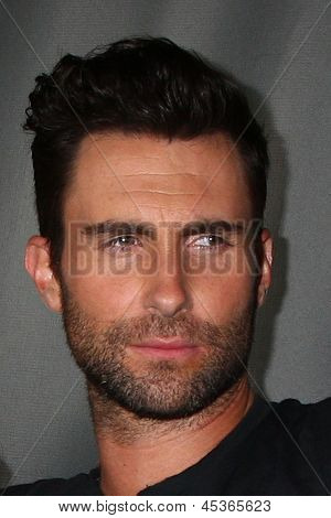 """LOS ANGELES - MAY 8:  Adam Levine arrives at """"The Voice"""" Season 4 Top 12 Event at the House of Blues on May 8, 2013 in West Hollywood, CA"""