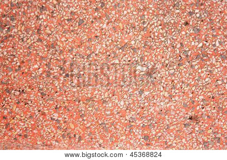 Red Granite Floor Texture Background