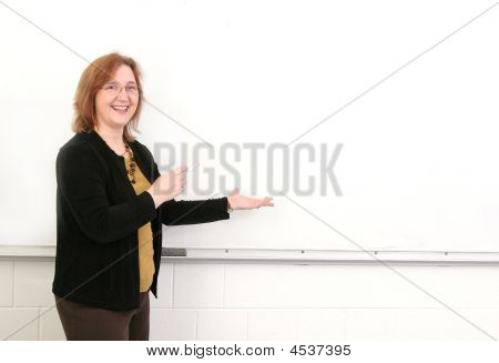 Teacher In Class
