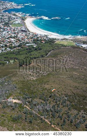 View Of Camps Bay From Lions Head Mountain