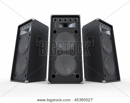 Large Audio Speakers I