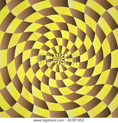 Abstract Yellow-brown Shading Background