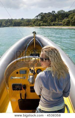 Speedboat Beauty