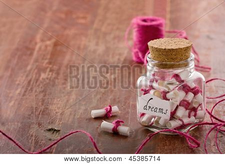 Dreams In A Glass Jar