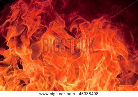 Fondo de llama