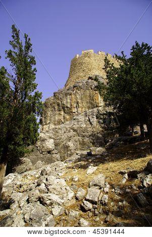 bastille on the rock