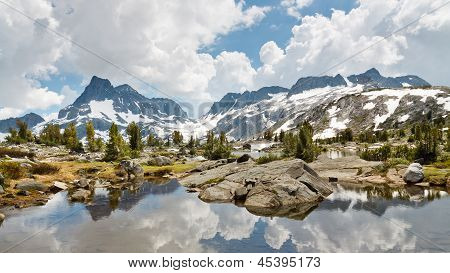 Ansel Adams Wilderness Alpine Lakes Scenery